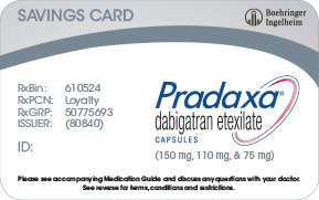 PRADAXA savings card